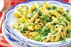 Pasta met saus van groene groenten - Recept - Allerhande