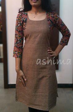 Code:0912151-Khadi Cotton Kurta- Price INR:790/-