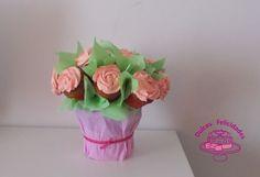 Dulces felicidades: Maceta de cupcakes