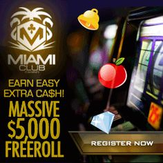 Miami Club USA Mobile Casino For Slots Review. Miami Club USA Mobile Casino Online Offers $500 Freeroll. Enter Free & Win Fixed Cash Prizes Playing Slots.