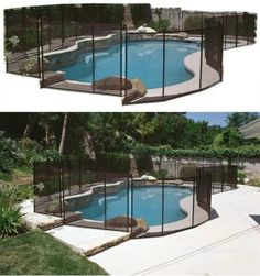 pool fences 167851 swimming pool safety gate outdoor above or in ground baby kid dog security fence buy it now only 17999 on ebay pinterest