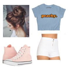 """Untitled #63"" by zain-mjalli on Polyvore featuring Converse"