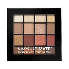 Nyx Professional Makeup Ultimate Eyeshadow Palette Warm Neutrals . oz (59 BRL) ❤ liked on Polyvore featuring beauty products, makeup, eye makeup, eyeshadow, palette, warm neutrals, nyx, nyx eyeshadow, nyx eye shadow and palette eyeshadow