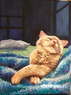 Please vote for this entry in Pet Portrait Challenge! #CatIllustration