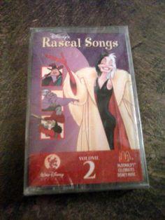 McDonald's Disney Rascal Songs Cassette Tape