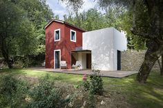 remash:  rural house rehab ~ cyril chenebeau architect | photos aldo amoretti a+a