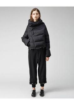 Y's   Down Wrap Jacket   La Garçonne