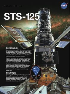 STS-125 Mission poster