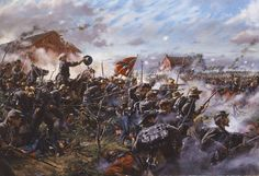 Barksdales Charge: The True High Tide Of The Confederacy At Gettysburg July 2 1863 free ebook Confederate States Of America, America Civil War, Confederate Flag, Military Art, Military History, Gettysburg Battlefield, Gettysburg National Military Park, Civil War Art, Civil War Photos