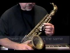 Ex065~T How to Play Saxophone - Saxophone Lessons for Beginners ~ Tenor Part - YouTube