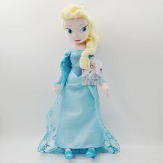 Elsa Plush Toy  Price: $15 & FREE Shipping    http://frozen.press/product/elsa-plush-toy/