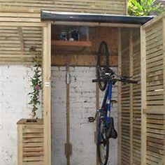 Vertical Bike Storage Shed                                                                                                                                                                                 More