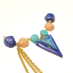 Geometric Necklace variable effect   DeSerres
