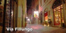Via Fillungo , route lucca , Hotel Universo Lucca, official site, hotel lucca