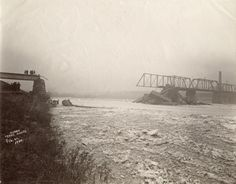 Big Four Railroad Accident, February 23, 1900 - Wabash River, Terre Haute
