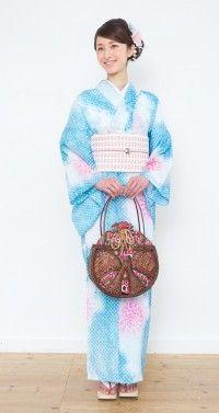 有松鳴海絞り 浴衣プレタ