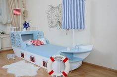 die besten 25 kinderbett schiff ideen auf pinterest. Black Bedroom Furniture Sets. Home Design Ideas