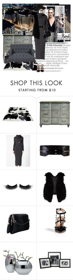 """""""retail therapy"""" by punnky ❤ liked on Polyvore featuring Gucci, Lanvin, eylure, Piel Leather, Chanel, Therapy, Valentino and Philippi Design"""