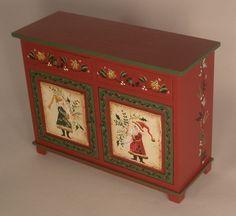 Santa Server by Karen Markland - $286.50 : Swan House Miniatures, Artisan Miniatures for Dollhouses and Roomboxes