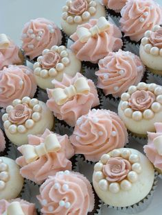 Resultado de imagen para cupcakes vintage flores