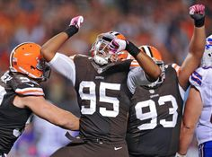 Cleveland Browns defensive end Armonty Bryant
