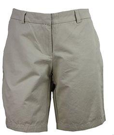 Tommy Hilfiger Womens Bermuda Shorts 4 Shore Khaki * Read more at the image link. Short Waist, Tommy Hilfiger, Bermuda Shorts, Casual Shorts, Image Link, Women, Fashion, Moda, Women's