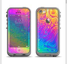 iPhone 5c lifeproof case skin