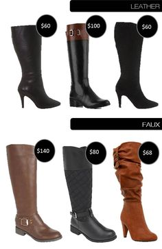 How To Measure for wide calf boots | Glass Slippers | Pinterest ...