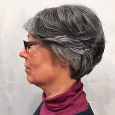 Short hairstyles for women over 40 are here. Fashion has never been limited to age. No one has a say as to what look you can do at any specific age.