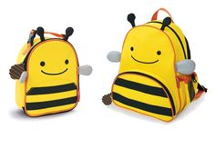 Love these little backpack and lunchie sets for the kiddos!