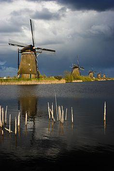 Kinderdijk wind mills, Netherlands