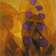 """""""Warm Chromatics"""", by Frantisek Kupka (1912) Art Experience NYC www.artexperiencenyc.com"""