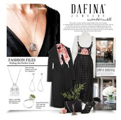 """Dafina Jewelry #8"" by thewondersoffashion ❤ liked on Polyvore featuring MSGM, Dodo Bar Or, Sandra Mansour, Roland Mouret, Yves Saint Laurent, Jimmy Choo and Furla"