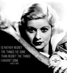 I'd rather regret the things I've done than regret the things I haven't done   Julian Pencilliah Inspire #Motivation #Ambition #Quotes