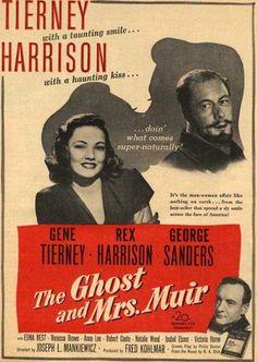 Cinemelodic: Crítica: EL FANTASMA Y LA SEÑORA MUIR (1947) -Parte 2/3-