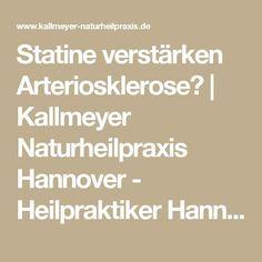 Statine verstärken Arteriosklerose? | Kallmeyer Naturheilpraxis Hannover - Heilpraktiker Hannover