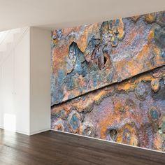 Paul Moore's Close-up Rust Mural wall decal