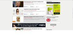Klant: Castingnieuws.nl, Campagne Werving modellen / acteurs, veronicamagazine.nl, homepage banner