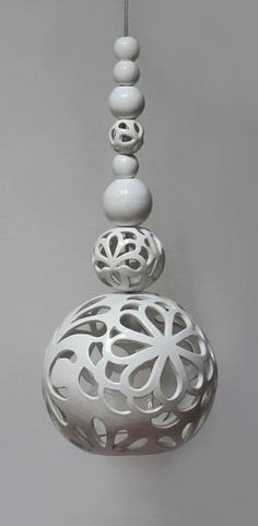 lamp: White Dream (collection: Oriental Dream) Joanna Bylicka