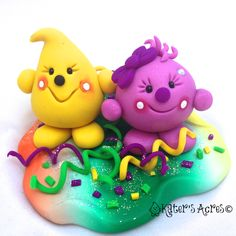 Polymer Clay Gallery | ... Parker & Lolly StoryBook Scenes - 2013 Polymer Clay Figurine Gallery