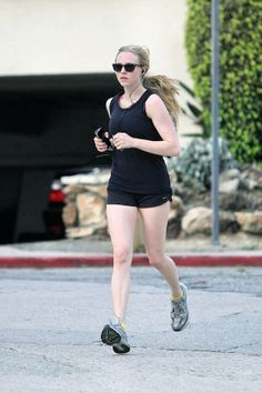 Finally, someone who is as pale as I am, running around in shorts like she owns the place