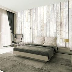 Whitewash Wood Wallpaper Mural Wallpaper Mural - by AllPosters. White Wood Paneling, White Washed Furniture, Shabby Chic Colors, Wood Wallpaper, Wallpaper Murals, Wallpaper Samples, Graphic Wallpaper, White Wallpaper, Wallpaper Online