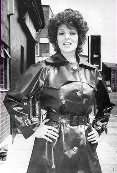 Woman in SBR Mackintosh - The Mackintosh Fashion Magazine - 1977