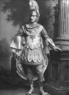 Hon. George Frederick Stanley, later Lieut.-Col. Rt. Hon. Sir George Stanley (1872-1938) as Mars, Louis XIVth period.