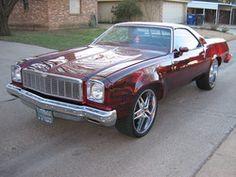 1975 Chevrolet El Camino.