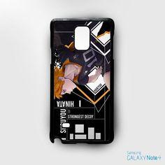 Haikyuu Hinata Shoyo for Samsung Galaxy Note 2/Note 3/Note 4/Note 5/Note Edge phonecases