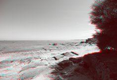 Normandy beach in 3D