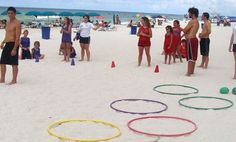Beach Games - COULD JUST DRAW CIRCLES IN THE SAND