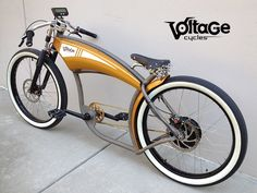 (VIDEO) Voltage Cycles, custom electric Chopper bikes | Cars, motorbikes, bicycles, planes and boats, electric or hybrid.