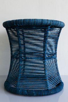 studio one sal damru indigo stool